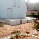 Maconnerie et terrasse aménagement exterieur Munzone Kembs