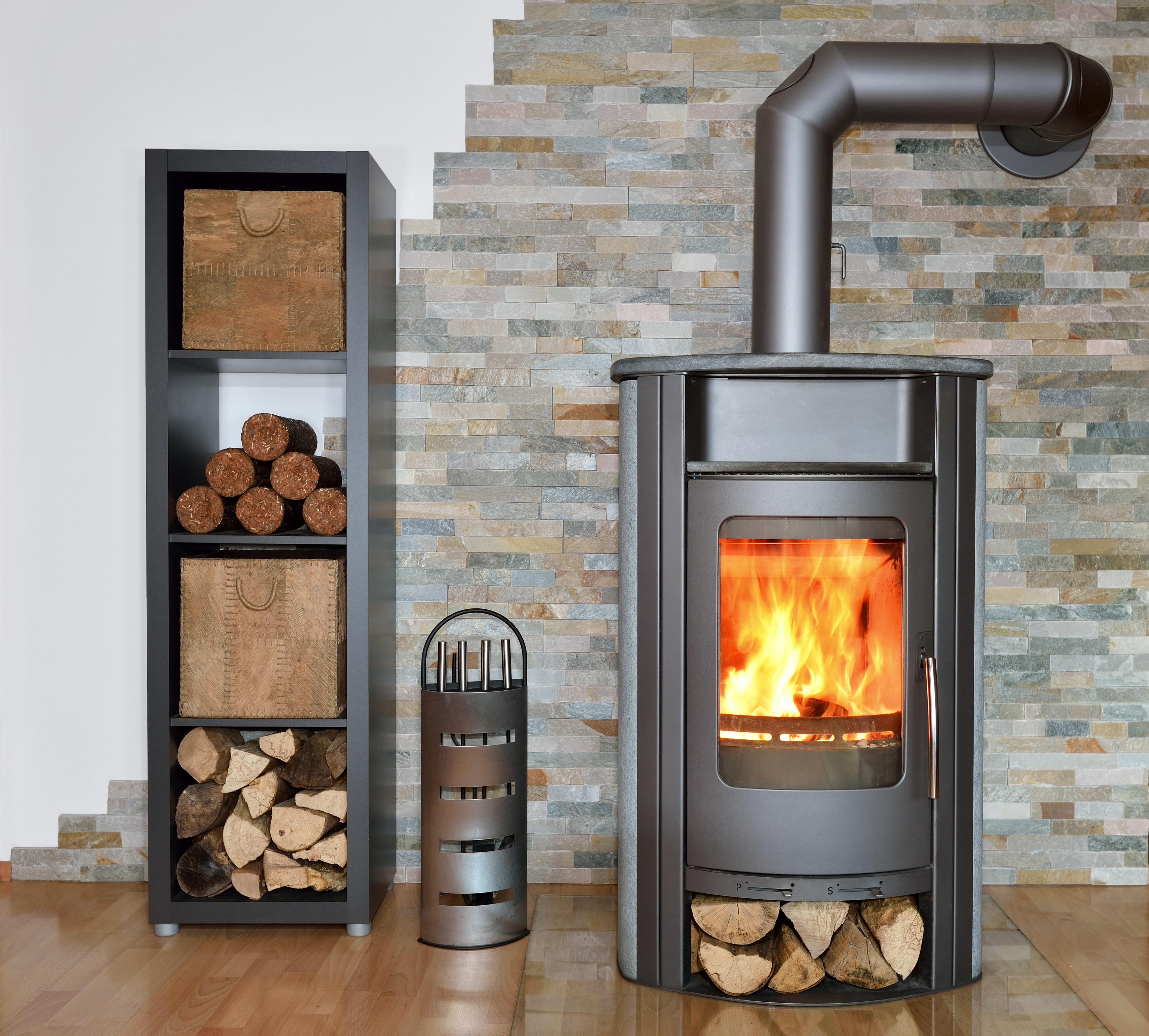 Choisir po le ou chemin e - Faire un conduit de cheminee pour poele a bois ...