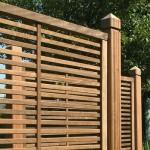Panneau clôture en bois sundgau