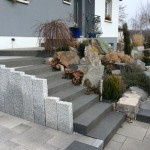 entreprise paysagiste escalier entrée habsheim