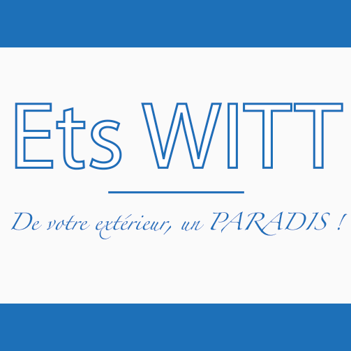 Logo WITT Blotzheim aménagement paysagiste piscine maçonnerie entretien espace verts pavage dallage