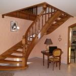 escalier menuiserie metz