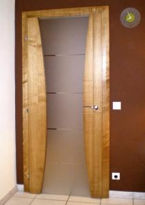 entreprise porte interieur maison verre spittler menuiserie bois sierentz haut rhin 68 - Nos artisans ont du Talent
