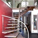 escalier deign menuiserie alu sierentz