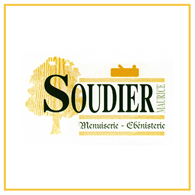Logo menuiserie maurice soudier ébeniste fremestroff moselle