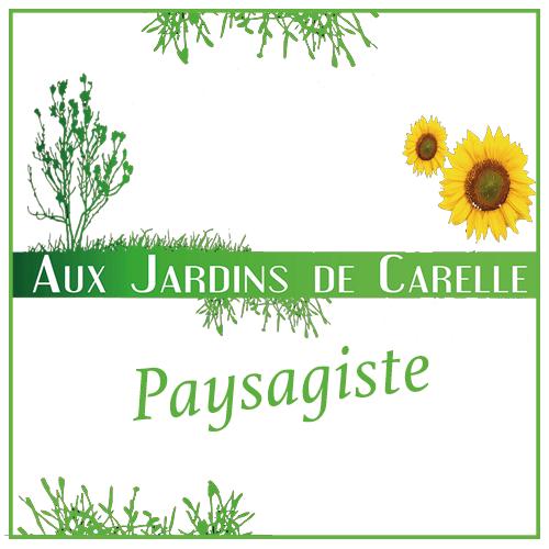 Logo aux jardins de carelle paysagiste moselle nancy