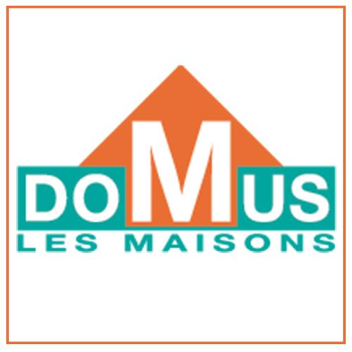 Logo maison domus constructeur de maison individuel mulhouse haut-rhin 68