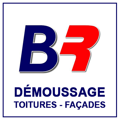 Logo BR toitures demoussage metz moselle
