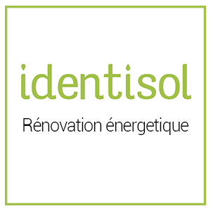 logo identisol entreprise isolation carrignan renovation energetique