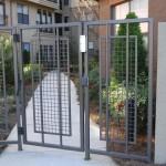pose portail metallique bordeaux