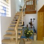 escalier sur mesure en bois aube 10