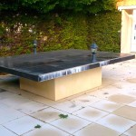 table en beton exterieur