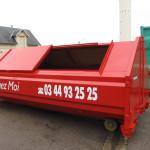 benne recyclage des déchets pas de calais