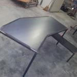plan de travail métal métallerie aube