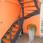 structure escalier métal métallerie aube