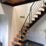 rampe escalier métal métallerie aube