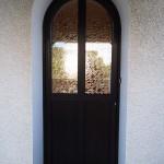 porte d'entrée menuiserie savoie