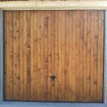 porte garage basculante bois aube