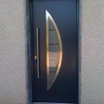 porte entrée design aube