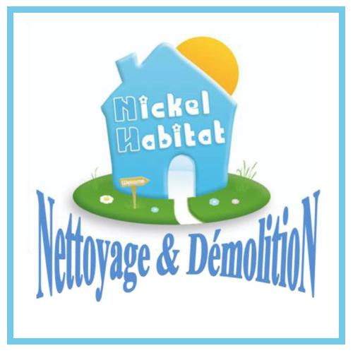 logo nickel habitat demolition desamiantage maconnerie couverture 85