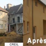 Entreprise de maçonnerie ravalement de facades Kasim construction le bourget Seine Saint Denis