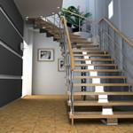 escaliers menuiserie troyes