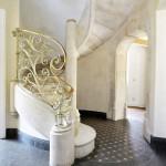 escalier moderne pierre