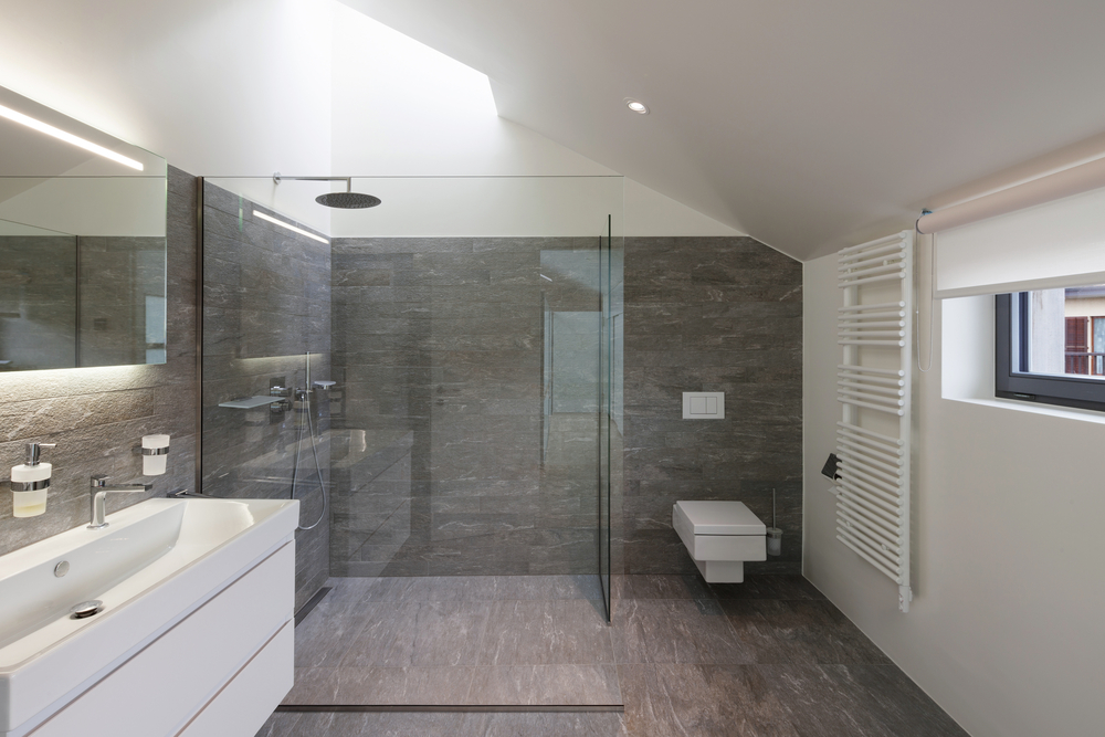 salle de bain pose douche italienne